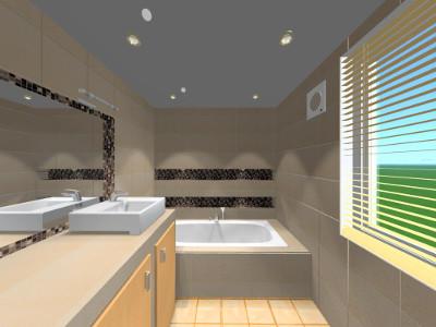 Fürdőszoba terv
