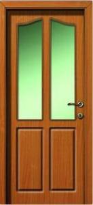 Laminált, vákuumfóliázott ajtó.